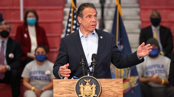 El gobernador del estado de Nueva York, Andrew Cuomo.