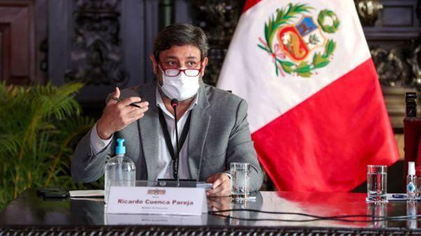 Ministro de Educación, Ricardo Cuenca
