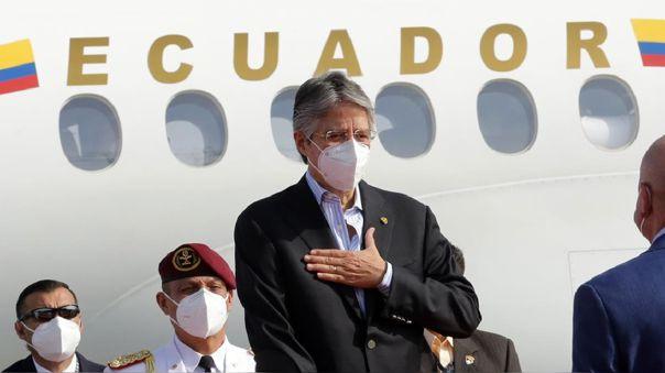 Presidente ecuatoriano, Guillermo Lasso.