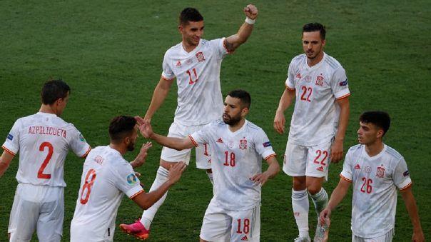 España goleó 5-0 a Eslovaquia y clasificó a octavos de la Eurocopa 2021
