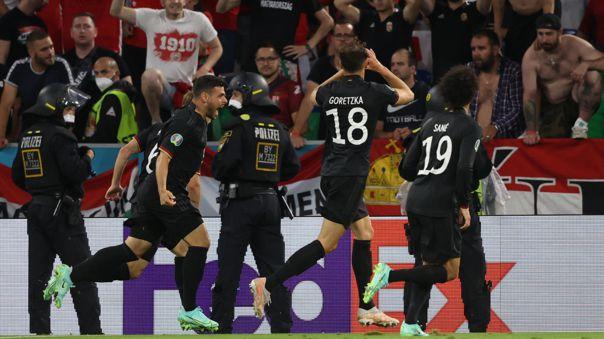 Alemania no mostró su mejor versión este miércoles frente a Hungría.