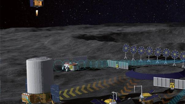 Las potencias apuntan a una base lunar, pero hay mucho trabajo previo.