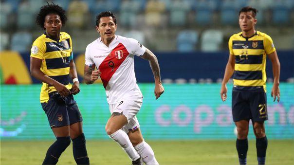 Perú empató 2-2 con Ecuador por fecha 4 del grupo B de Copa América 2021