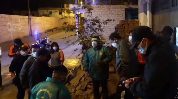 Personal de la Municipalidad de Mala supervisa daños en viviendas tras el sismo de magnitud 6.