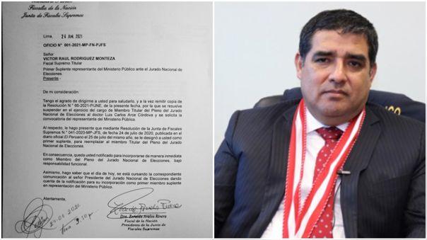 Víctor Rodríguez Monteza-Ministerio Público-JNE-Elecciones 2021