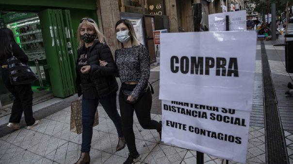 Chile detecta el primer caso de la variante Delta.