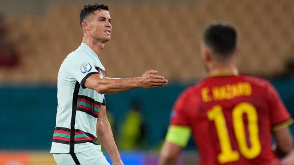 Portugal perdió 1-0 con Bélgica y fue eliminada de la Eurocopa 2021