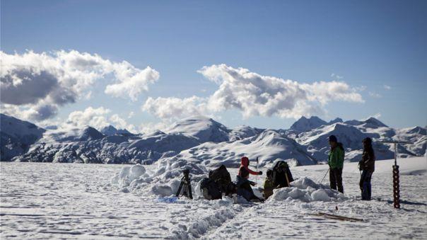 Glaciar Quelccaya en Perú