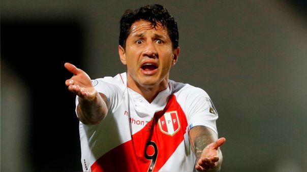 A Gianluca Lapadula le otorgaron solo un gol en el Perú vs. Paraguay