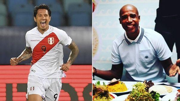 Perú vs. Brasil: Gianluca Lapadula conoció a Luis Guadalupe y prometió comer sopa seca
