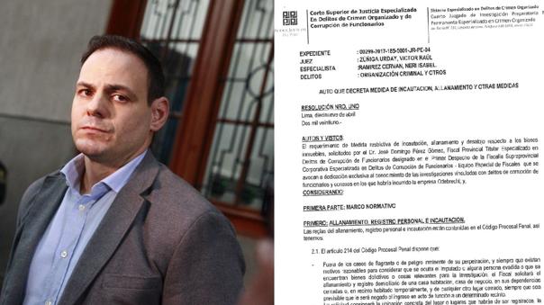 Poder Judicial ordena incautación de dos terrenos en Chilca vinculados a Mark Vito Villanella