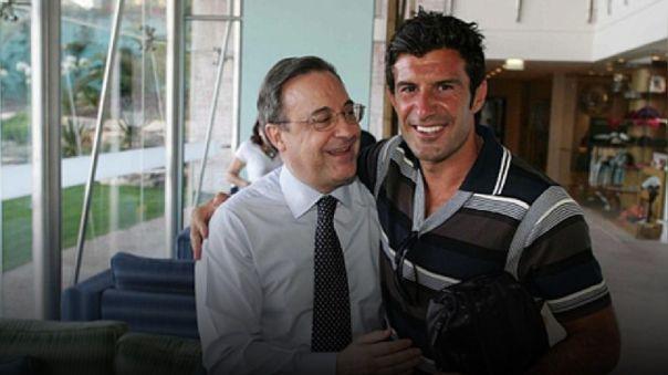 Luis Figo responde a Florentino Pérez tras los polémicos audios y asegura que es caso cerrado
