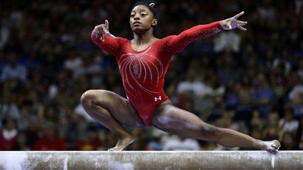 Simone Biles es parte del equipo de gimnasia de Estados Unidos en Tokio 2020.