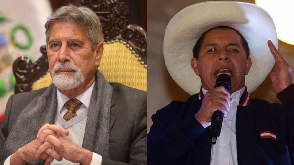 Francisco Sagasti recibirá a Pedro Castillo en Palacio de Gobierno.