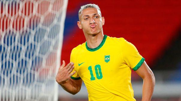 Brasil venció 4-2 a Alemania por la fecha 1 de los Juegos Olímpicos Tokio 2020