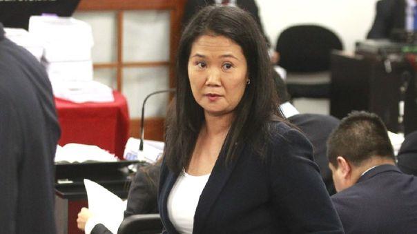 El control de acusación de la investigación contra Keiko Fujimori se realizará de manera virtual.