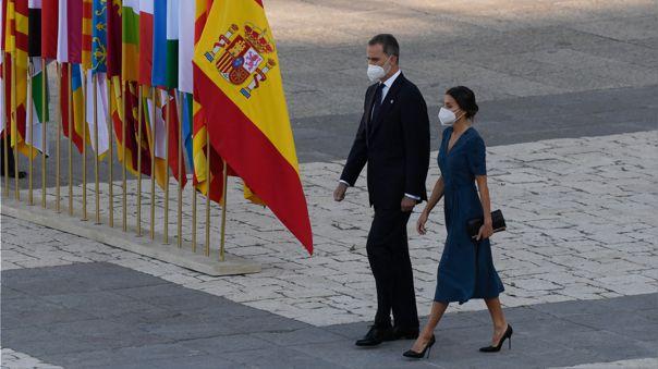 Felipe VI asistirá a la investidura de Pedro Castillo.