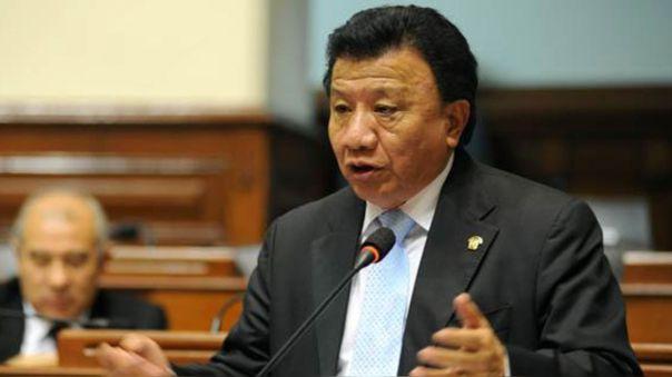 Enrique Wong, congresista electo de Podemos Perú.