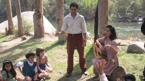Coquito, la película. Emanuel Soriano. Patricia Barreto. Ministerio de Cultura.