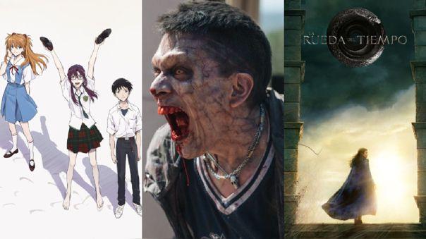 Comic-Con 2021. Amazon Prime. Evangelion. S.O.Z. Soldados o Zombies. La rueda del tiempo