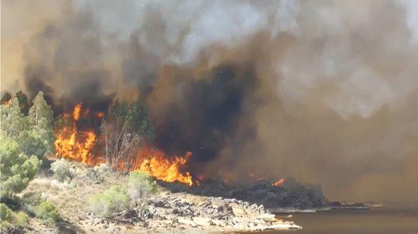 Los incendios arrasan miles de hectáreas en España