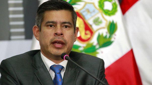 Luis Galarreta, secretario general de Fuerza Popular.