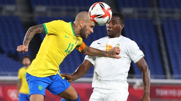 Brasil llegó a los cuatro puntos en su grupo de Tokio 2020.
