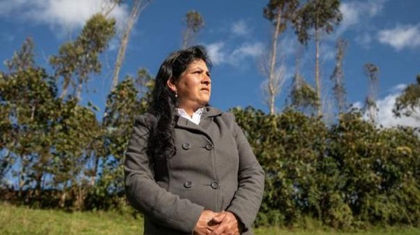 Lilia Paredes, esposa del presidente electo Pedro Castillo.