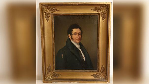Descubren nuevo retrato del libertador José de San Martín
