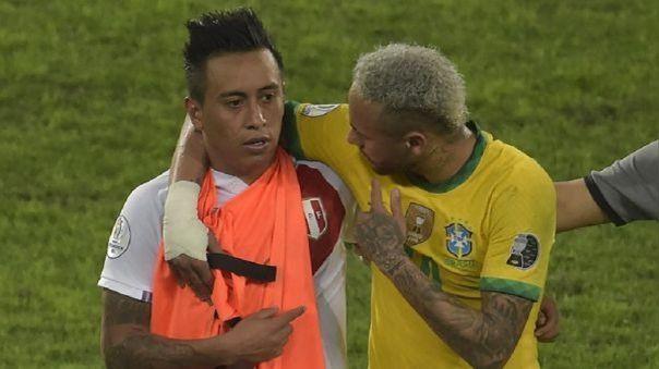 Cueva y Neymar Jr.