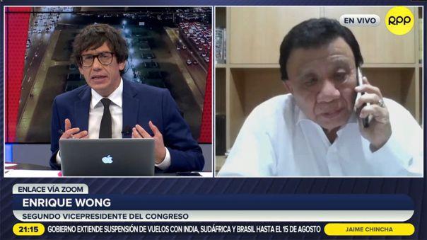 Enrique Wong-Mesa Directiva-Congreso