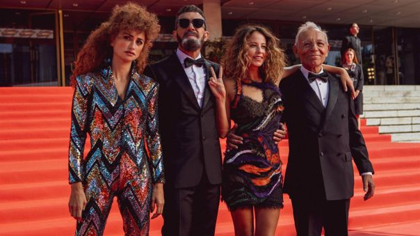 Antonio Banderas, Penélope Cruz, Irene escolar y José Luis Gómez en