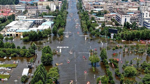 Inundaciones en la provincia de Henan, en China, dejan 71 muertos
