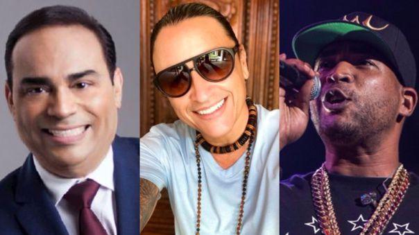 Gilberto Santa Rosa, Elvis Crespo y Don Omar