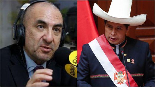Elmer Huerta comentó mensaje a la Nación de Pedro Castillo.