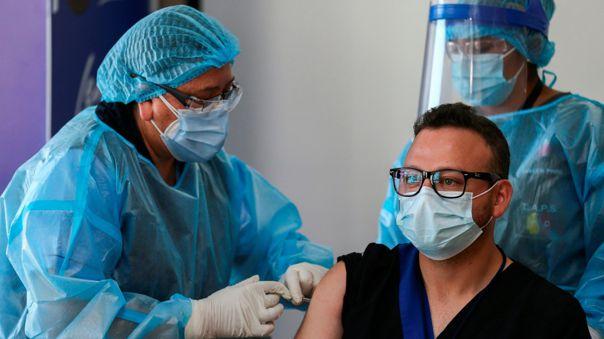 Ecuador avanza en proceso de vacunación.