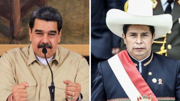 Nicolás Maduro destacó la presencia de su canciller en la investidura de Pedro Castillo como Presidente de la República.