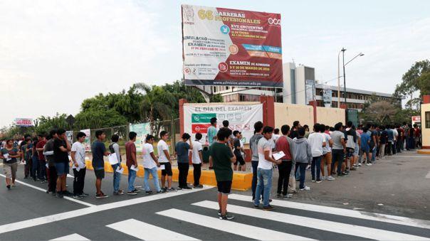 El presidente de la Asociación de Universidades indicó que implementar el ingreso libre eliminaría el sistema de vacantes en las universidades.