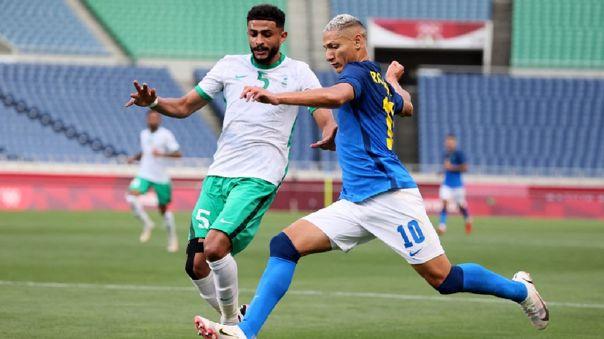 Brasil venció 3-1 a Arabia Saudita por la fecha 3 de Tokio 2020