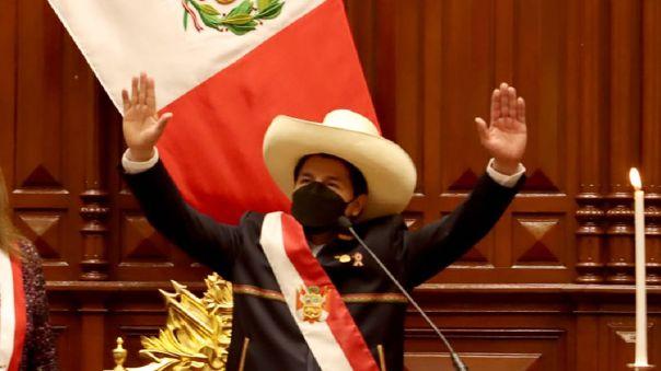 Pedro Castillo, presidente del Perú.