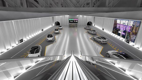 The Boring Company tiene sus primeros túneles en Las Vegas.