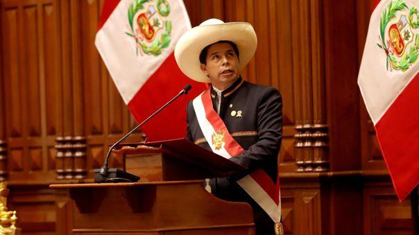 Pedro Castillo asumió la Presidencia.