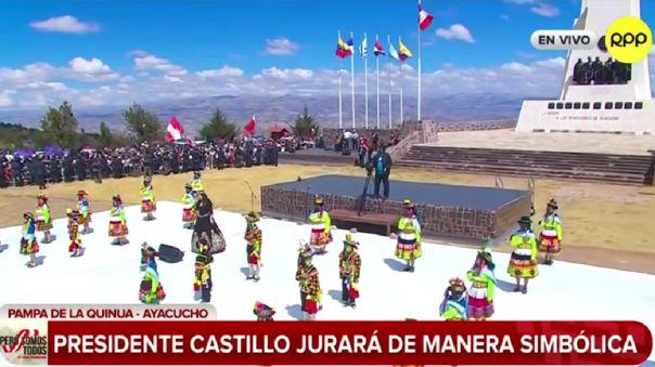 Himno en quechua en