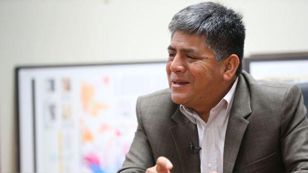 Carlos Rua, gobernador regional de Ayacucho