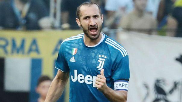 Giorgio Chiellini juega en Juventus desde mediados del año 2005.