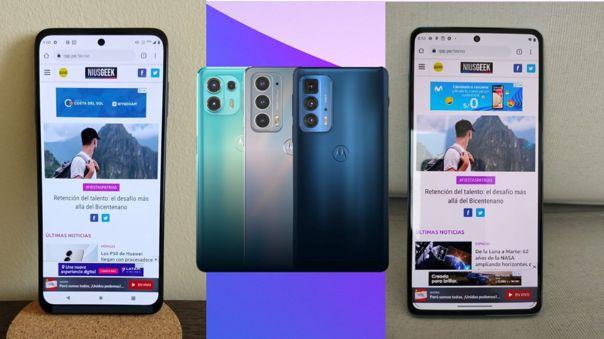 Motorola presenta tres nuevos smartphones en el mercado internacional bajo la serie Edge: el lite, el estándar y el Pro