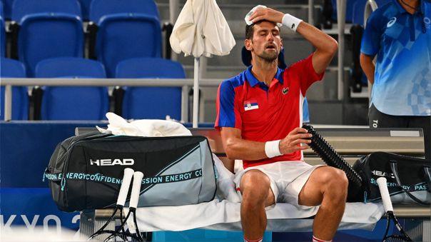 Novak Djokovic perdió en las semifinales de Tokio 2020 ante Alexander Zverev