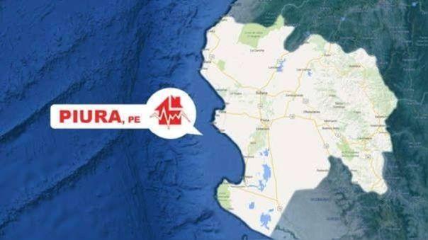 Piura sismo de 6.1 se sintió esta tarde en el norte del Perú