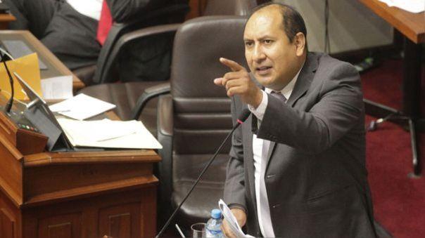 Richard Arce critica nombramiento de Guido Bellido como presidente del Consejo de Ministros.