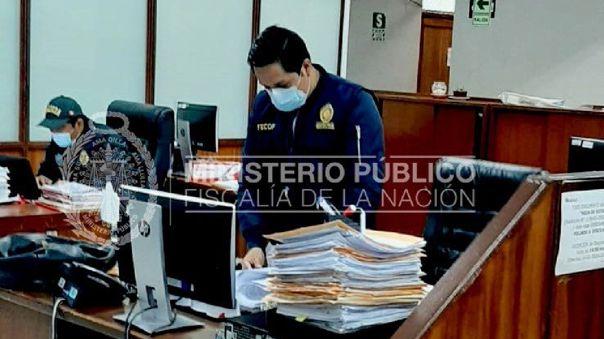 Allanamiento del Ministerio Público